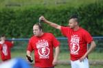 Meisterschaft 2015 Meisterfeier auf dem Fussballfeld